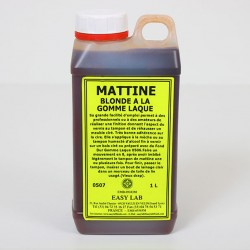mattine blonde à la gomme de laque 1l