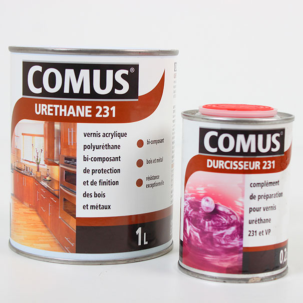 Vernis kit ur thane 231 tous supports for Vernis pour carrelage exterieur